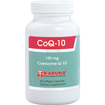 Karuna CoQ10 100 mg 60 gels CO146