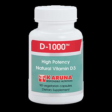 Karuna D 1000 90 vegcaps D1000