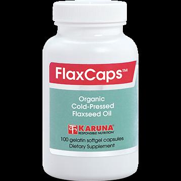 Karuna FlaxCaps 1000 mg 100 gels FLA17