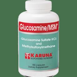 Karuna Glucosamine MSM 180 capsules GLU40