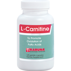 Karuna L Carnitine 500 mg 120 capsules CAR28