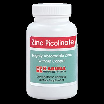 Karuna Zinc Picolinate 25 mg 60 caps ZIN31