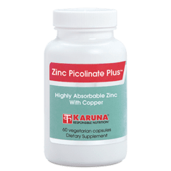 Karuna Zinc Picolinate Plus 25mg 60 caps ZIN27
