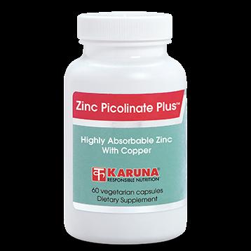 Karuna Zinc Picolinate Plus 25mg 60 caps ZIN27