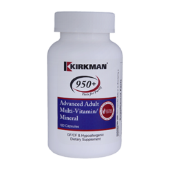 Kirkman Labs Advanced Adult Multi Vit Min 180 caps K53941