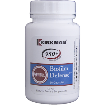 Kirkman Labs Biofilm Defense 60 caps K58810