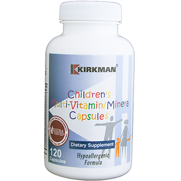 Kirkman Labs Children039s Multivitamin 120 caps K21048