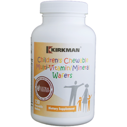 Kirkman Labs Children039s Multivitamin 120 chew wafers K20959