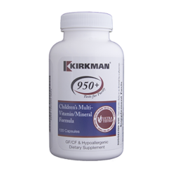 Kirkman Labs Childrens Multi Vit Min Form 120 caps K52998