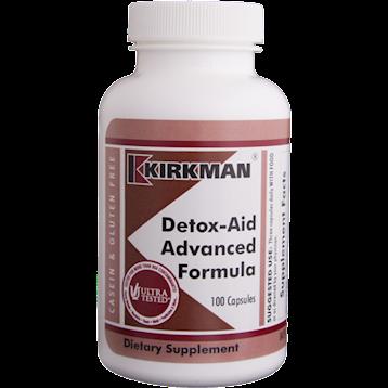 Kirkman Labs Detox Aid Advanced Formula 100 caps K21895
