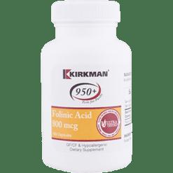 Kirkman Labs Folinic Acid 800 mcg 180 caps K24445