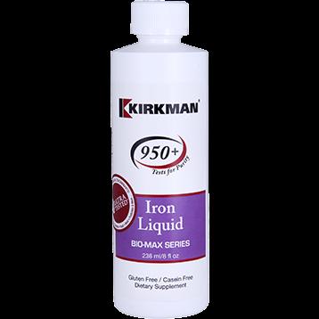 Kirkman Labs Iron Liquid 8 fl oz K24155