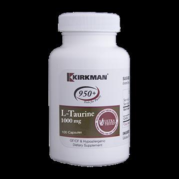 Kirkman Labs L Taurine 1000 mg 100 caps K52831