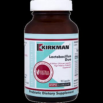 Kirkman Labs Lactobacillus Duo 90 caps K21475