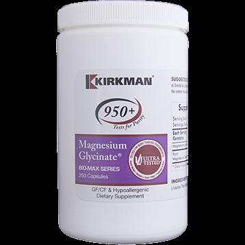 Kirkman Labs Magnesium Bisglycinate Chelate 250 caps K50962