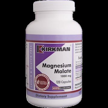Kirkman Labs Magnesium Malate 1000 mg 120 caps K21413