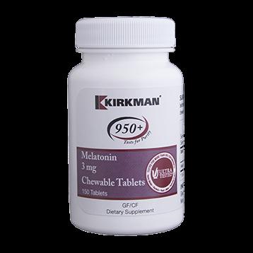 Kirkman Labs Melatonin 3 mg 150 chews K50691