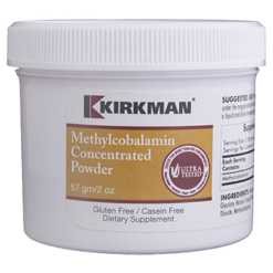 Kirkman Labs Methylcobalamin Concentrated Powder 2 oz K52920