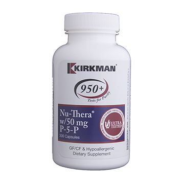 Kirkman Labs Nu Thera with 50 mg P 5 P 300 capsules K53223