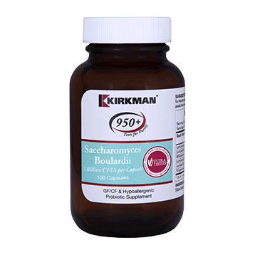 Kirkman Labs Saccharomyces Boulardii 100 caps K52401