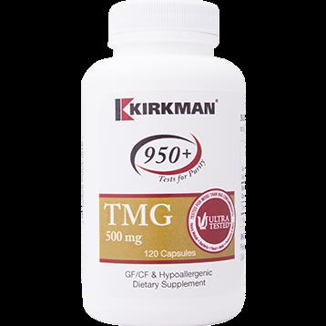 Kirkman Labs TMG 500 mg 120 caps K24391