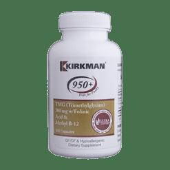 Kirkman Labs TMG 500mg w Folinic Acid B12 120 caps K53091