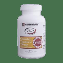 Kirkman Labs Vitamin C w Sucralose 250 chews K50292