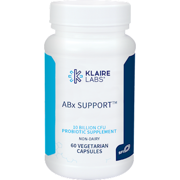 Klaire Labs ABx Support 60 vegetarian capsules K12307
