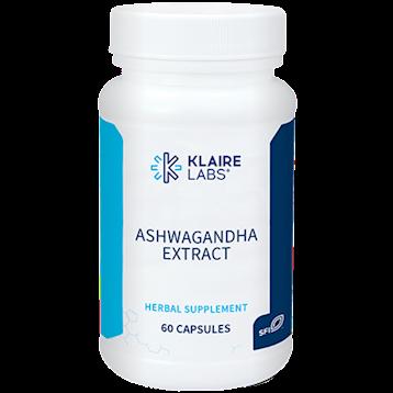 Klaire Labs Ashwagandha Extract 60 vegcaps KL1688