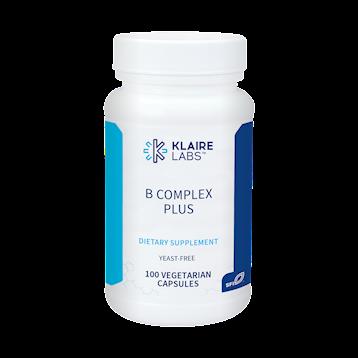 Klaire Labs B Complex Plus 100 vegcap BCO30