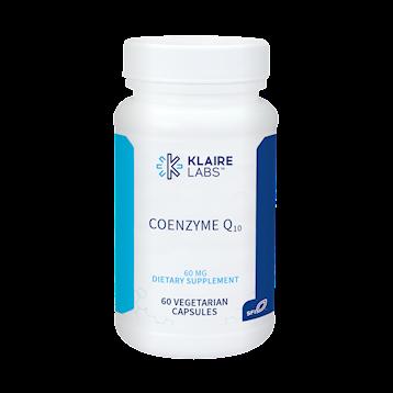 Klaire Labs Coenzyme Q10 60 mg 60 vegcaps K12192