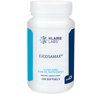 Klaire Labs Eicosamax Fish Oil 120 softgels KL4481