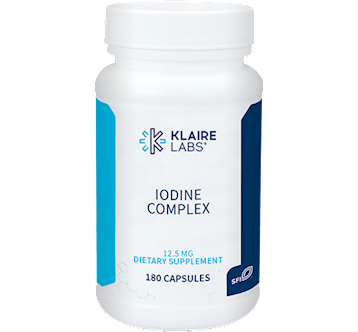 Klaire Labs Iodine Complex 12.5 mg 180 caps KL1664