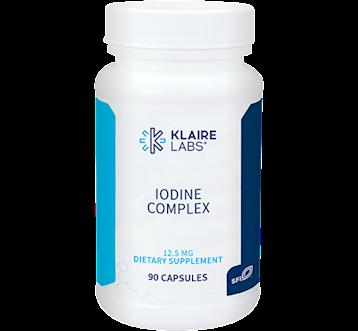 Klaire Labs Iodine Complex 12.5 mg 90 caps KL1244