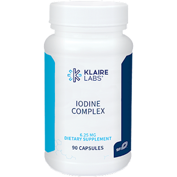 Klaire Labs Iodine Complex 6.25 mg 90 caps KL1299