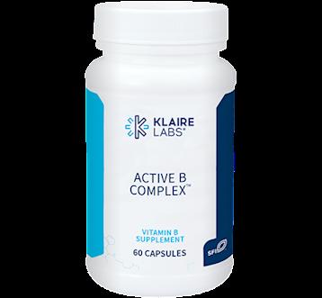 Klaire Labs Klaire Labs Active B Complextrade 60 caps KL1848