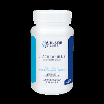 Klaire Labs L Acidophilus SCD™ Compliant 100 vegcap LAC15