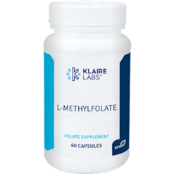 Klaire Labs L MethylFolate 60 caps KL1015