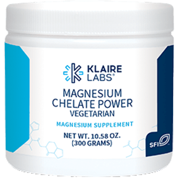 Klaire Labs Magnesium Chelate Powder 10.58 oz KL1916
