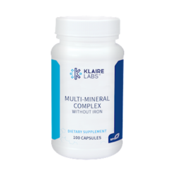 Klaire Labs Multi Mineral Complex w o Iron 100 caps MUL60