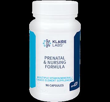 Klaire Labs Prenatal and Nursing Formula 90 caps KL1923