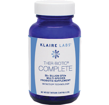 Klaire Labs Ther Biotic Complete 60 vegetarian capsules THER4