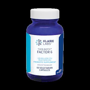 Klaire Labs Ther Biotic Factor 6 60 vegetarian capsules KTF6