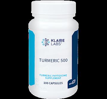 Klaire Labs Turmeric 500 Merivareg 100 caps KL1886