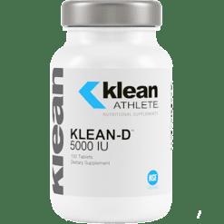 Klean Athlete Klean D 5000 IU 100 tablets KL9021
