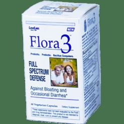 Lane Labs Flora3 60 vegetarian capsules LA2791