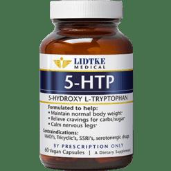 Lidtke 5 HTP 60 vegetarian capsules L03605