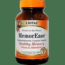 Lidtke MemorEase 60 capsules L03247