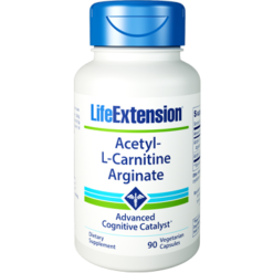 Life Extension Acetyl L Carnitine Arginate 90 vegcaps L07881