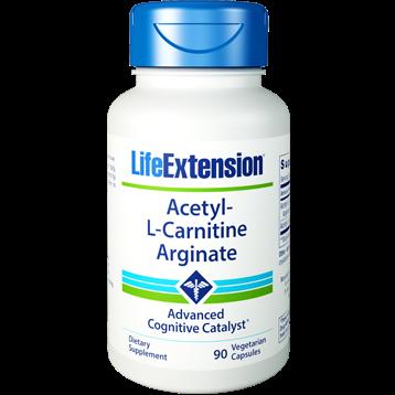 Life Extension Acetyl L Carnitine Arginate 90 vegcaps L07881